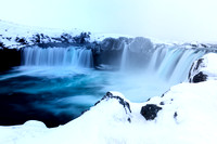 Godafoss in the Winter
