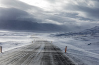 Ring Road Winter driving in Iceland