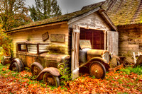 HDR Car and Garage